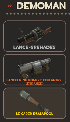 Demoman loadout