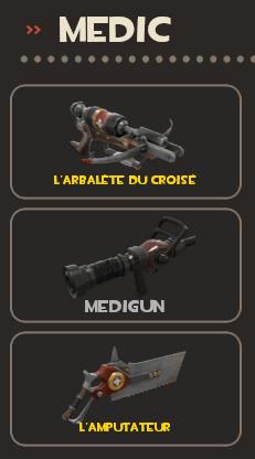 Medic loadout
