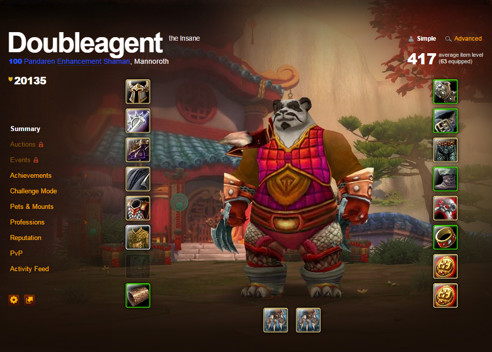 User Doubleagent, seeing that Pandaren begin the game neutral, starts on his quest to have the first and only