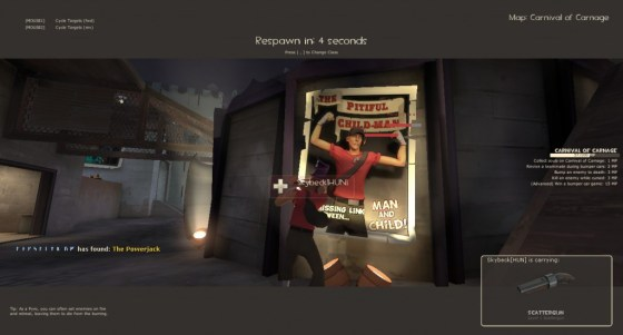 I kept on catching this Scout taunting in front of this poster.