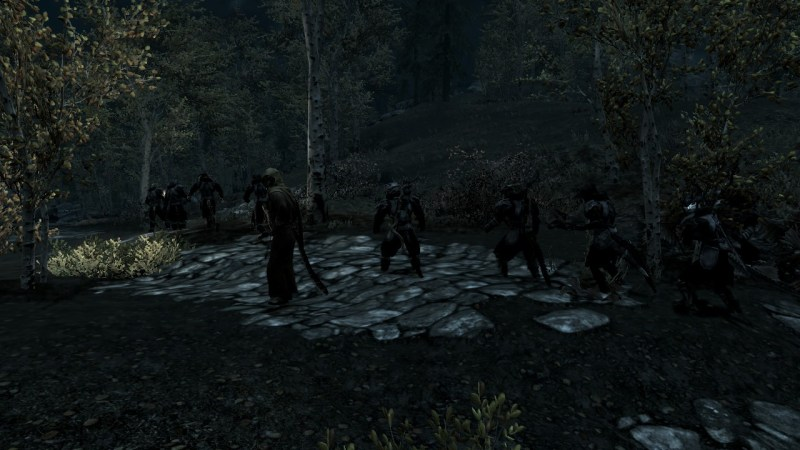 Because modded Skyrim can let you have an entire army.