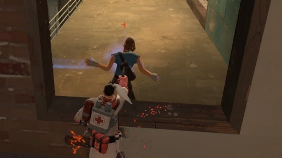 Move over, Spy. THIS is a backstab!