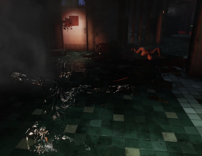 You wouldn't see it, just like this Stalker.