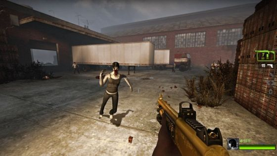 This mod on the L4D2 Workshop can give you the golden KF shotgun, the classiest iteration of this gun ever.