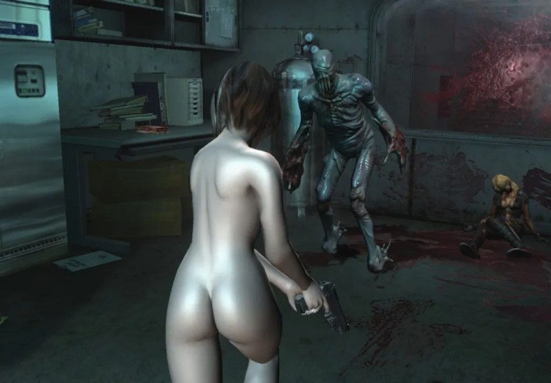 For example, this fully-nude Jill Valentine skin for Resident Evil Revelations is no longer available.