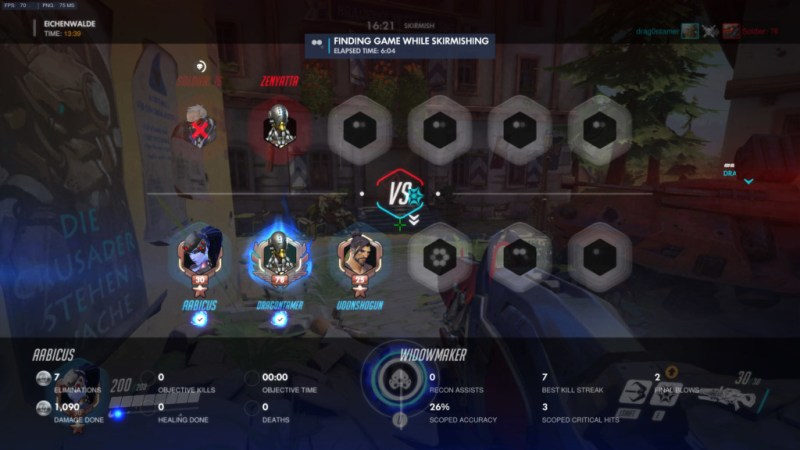 I've been spawncamping in skirmish for 6 minutes. That's a whole Quickplay round.
