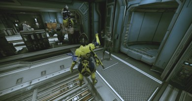 Volt waving to a Myconan person. Nice guy.