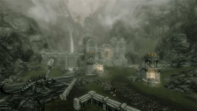 The former Dwemer city of Markarth