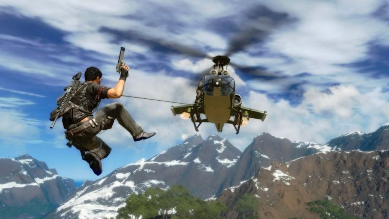 Hijacking a helicopter~