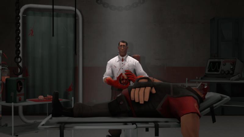 Yeah, psychotic Medic.