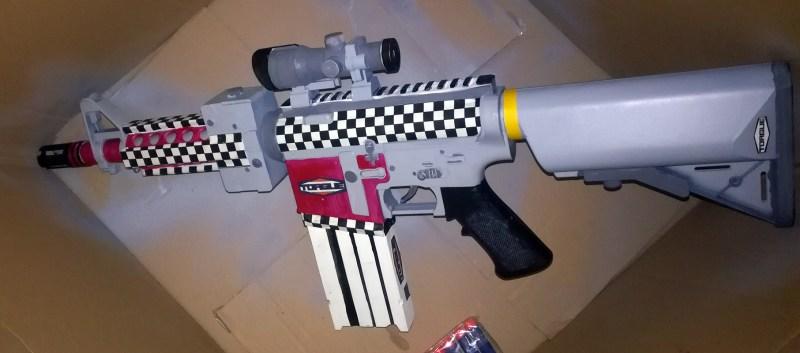 Pretty gun.