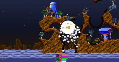 That being said, the early Worms games have their own unique look. The first Worms game was a lot less cuddly than Worms Armageddon.