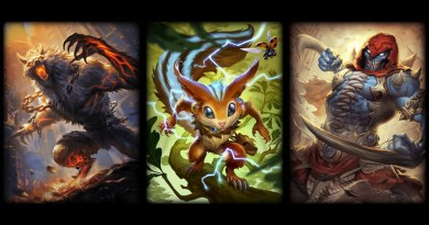Fenrir, Ratatoskr and Bakasura's card art.