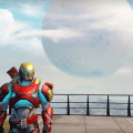 Here is Iron Ma... I mean... my Titan on Destiny 1
