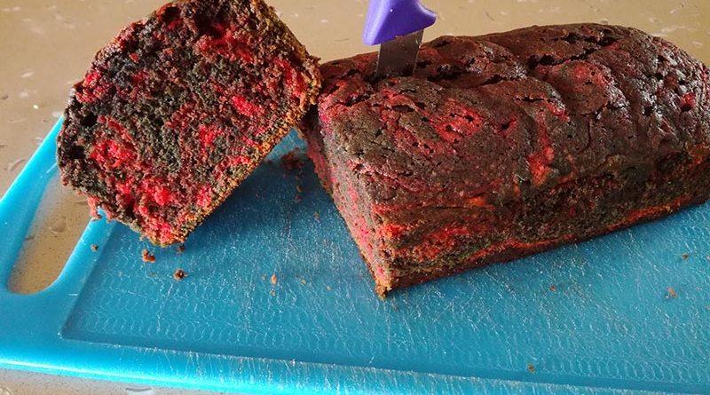 Bloodied Sponge Cake