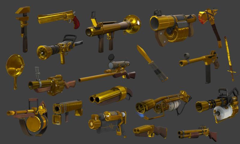 Australium weapons