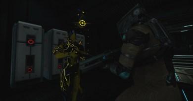 A Proto Volt and a Crewman