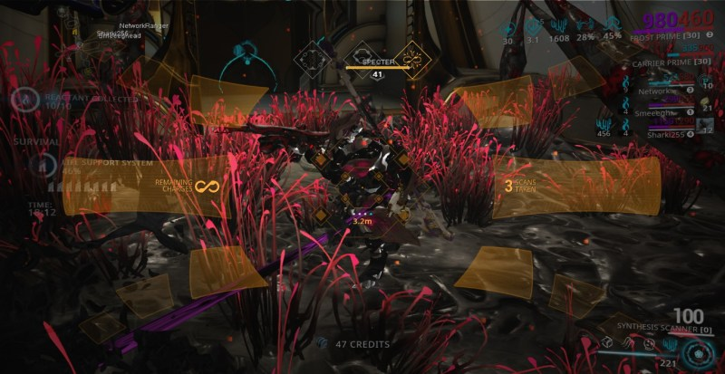 You can scan Specters as well. Gives a small bit of standing for Cephalon Simaris.