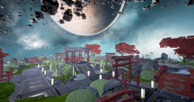 Cosmic Garden built by Krhymez
