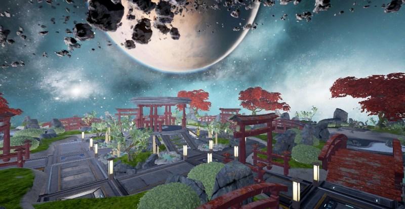 Cosmic Garden built by Krhymez