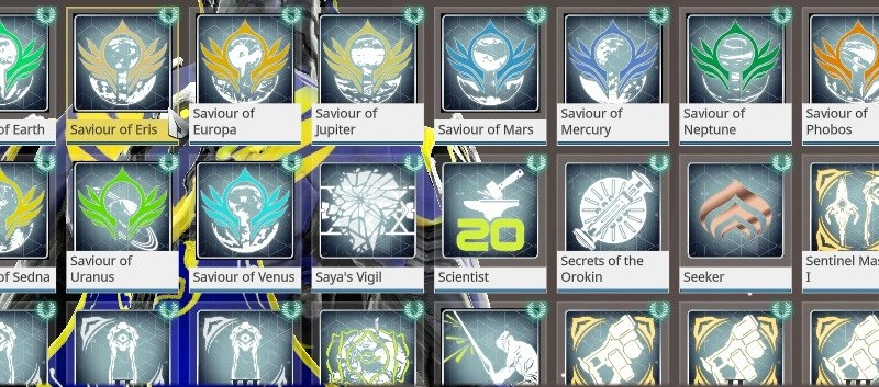 Warframe's achievements are all pretty doable as well. The only issue is that 25 of them are tied to your Mastery Rank, which makes Warframe pretty hard to get 100% on.