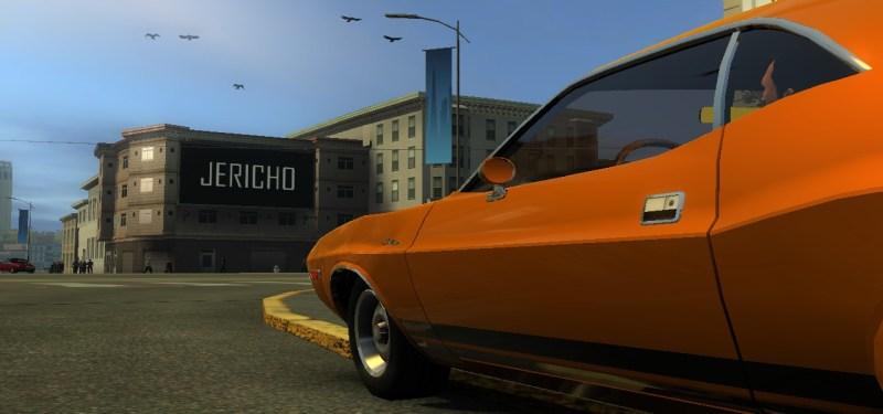 A familiar vehicle.
