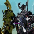 Saryn and a Nidus Specter