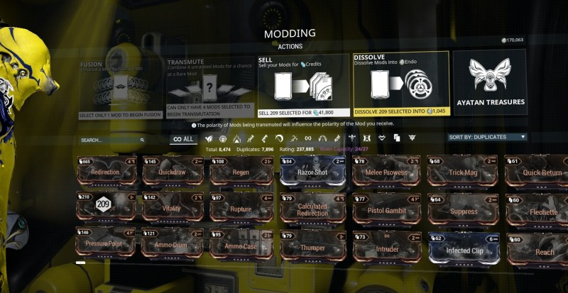 That's a lot of mods.