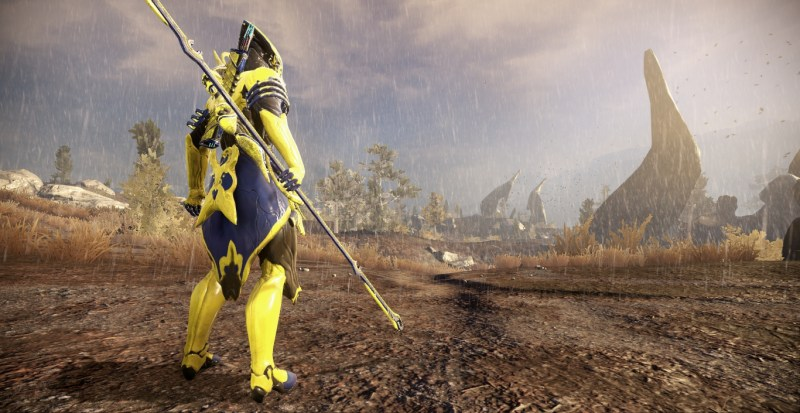 Recreating my original early-game look, with the MK1-Bo, Paris and my Furis which I still have. I wonder what I would have thought of the Plains of Eidolon back when I was new.