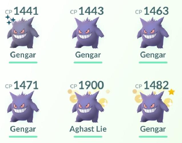 Gengars