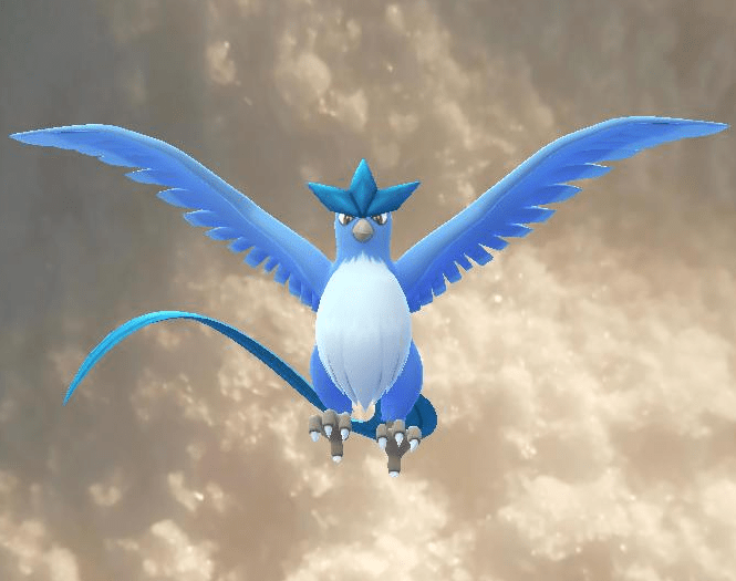 Articuno, found in my freezer, Pokemon Go