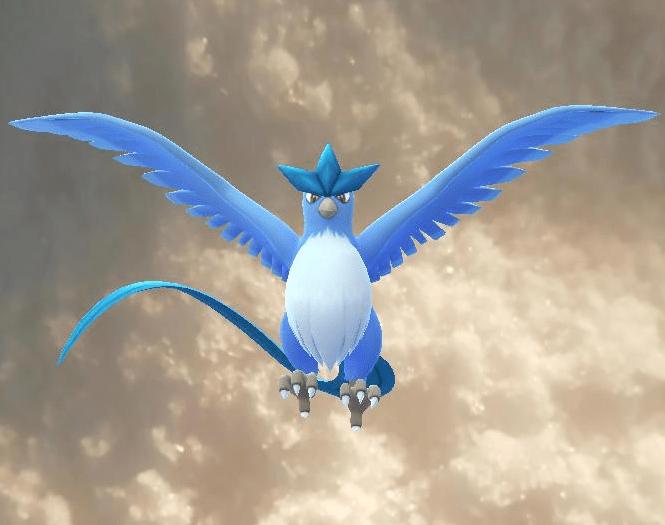 Articuno, found in my freezer, Pokemon Go