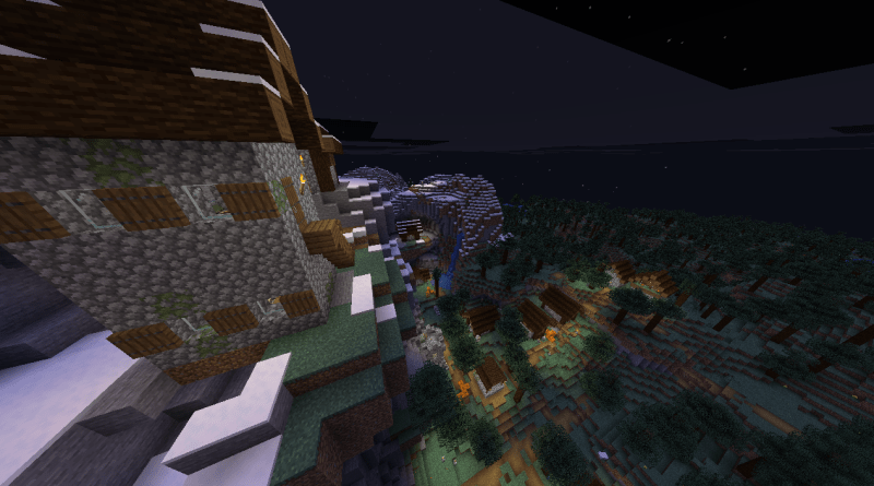 A new Village with the new Minecraft textures.