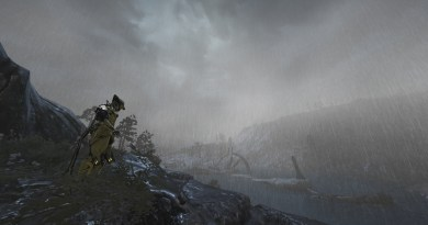 The Plains of Eidolon in stormy weather