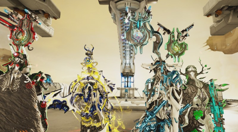 Four Warframes against the Ropalolyst