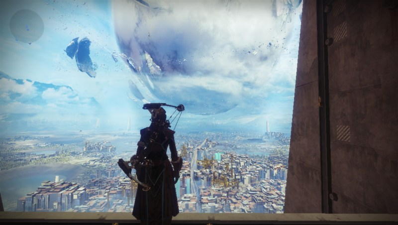 Looking over the last city, or something like that, with my wasted Shaders