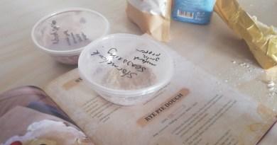 Making a basic dough recipe using the Elder Scrolls cookbook
