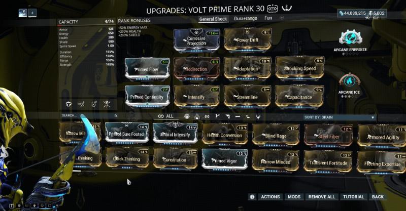 My standard Volt Prime build