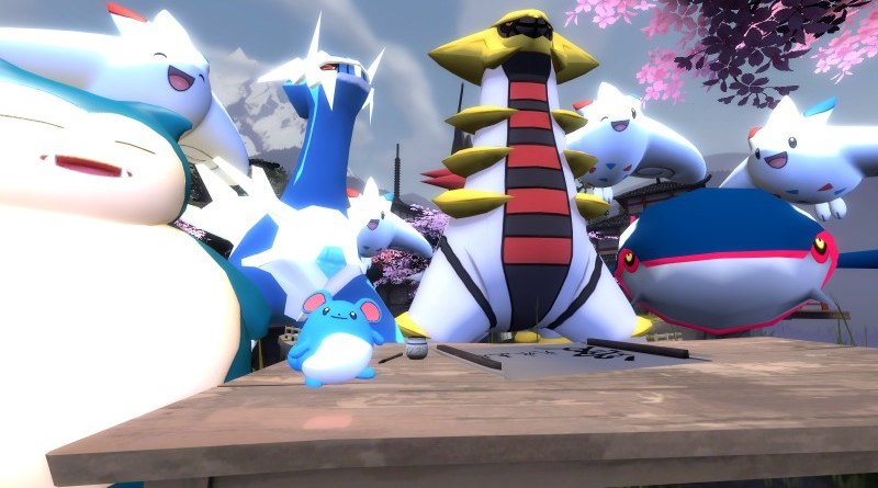Marill and Pokemon of the Master League
