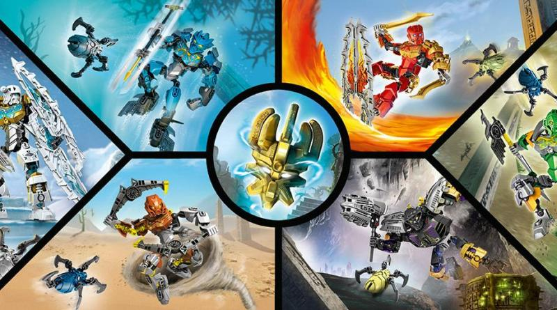 The Toa and the Mask of Creation - Credit to KZN02 for uploading this on Biosector01, which, frankly, is the best Bionicle wiki.