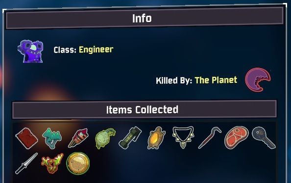 Killed by the planet!