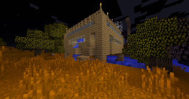 An abandoned home in Minecraft