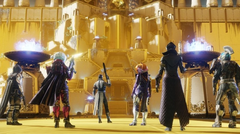 Spectre and five idiots get ready to do a Leviathan Raid