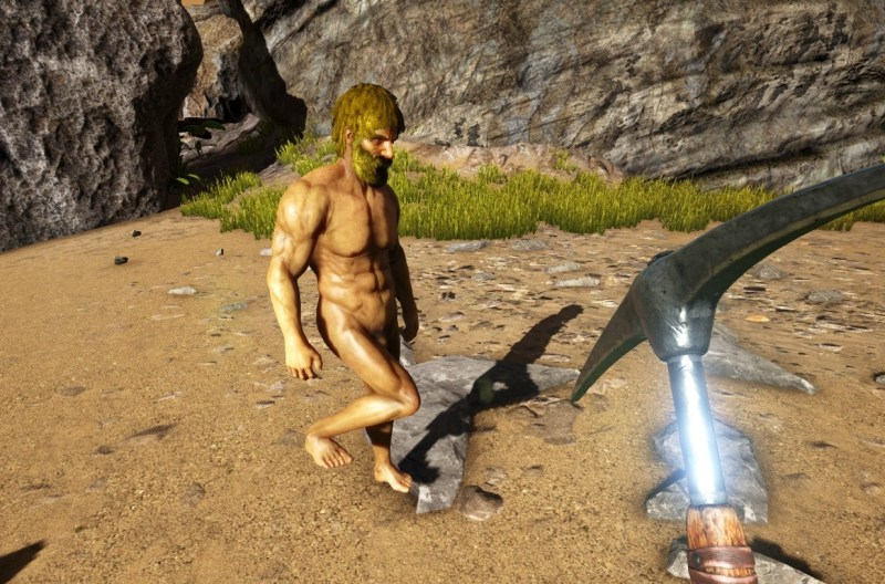 ARK Survival Evolved nude mod