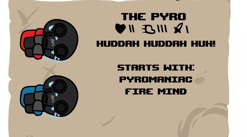 Binding of TF2 Characters - Pyro
