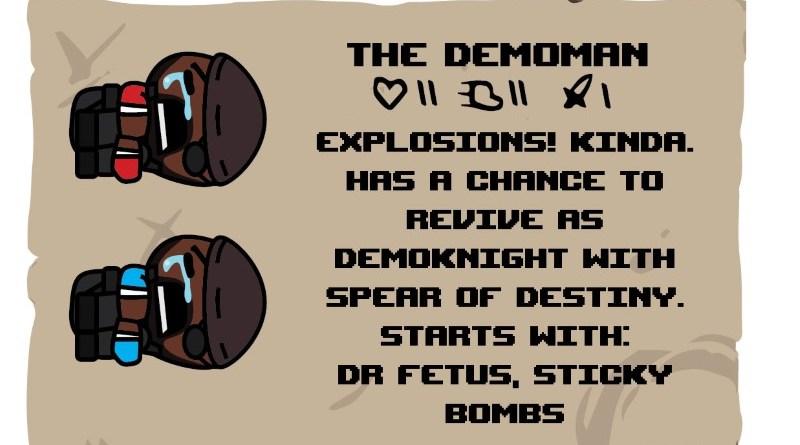 Binding of TF2 Characters - Demoman