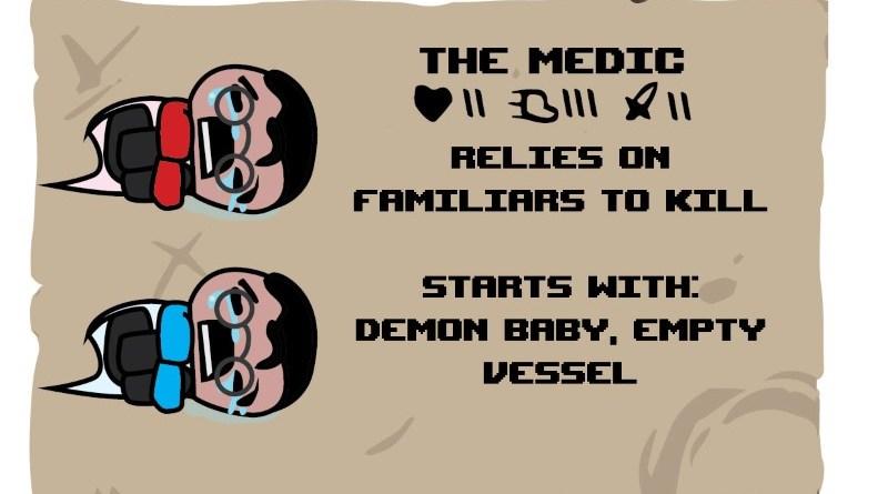 Binding of TF2 Characters - Medic