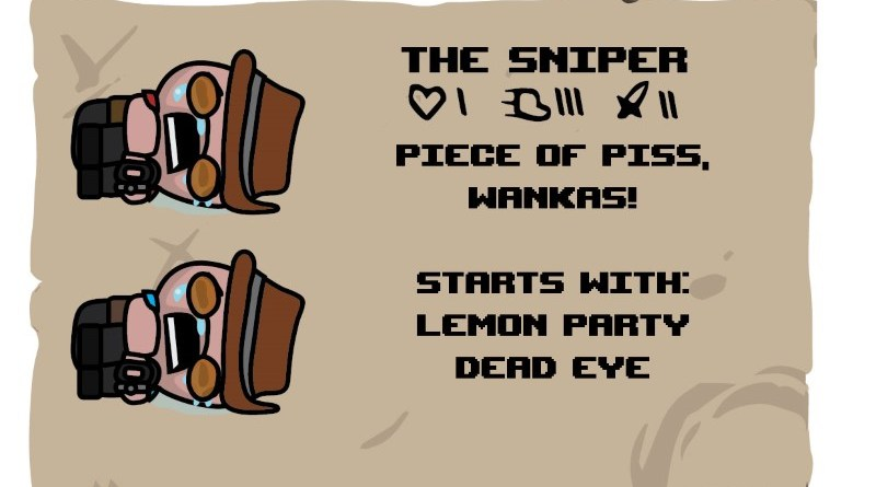 Binding of TF2 Characters - Sniper
