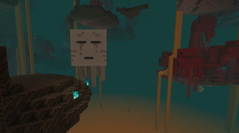 A Ghast in the Nether