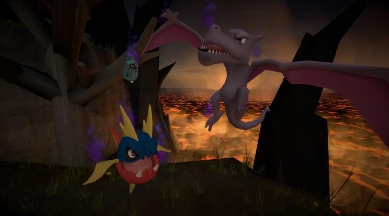 New shadow Pokemon - Carvanha, Beldum, Aerodactyl